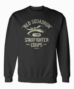Star Wars Rebel X Wing Starfighter Corps Collegiate Sweatshirt