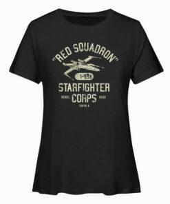 Star Wars Rebel X Wing Starfighter Corps Collegiate T Shirt