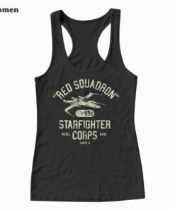 Star Wars Rebel X Wing Starfighter Corps Collegiate Tank Top