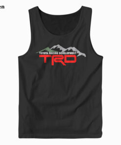 TRD Racing Development Logo Tank Top
