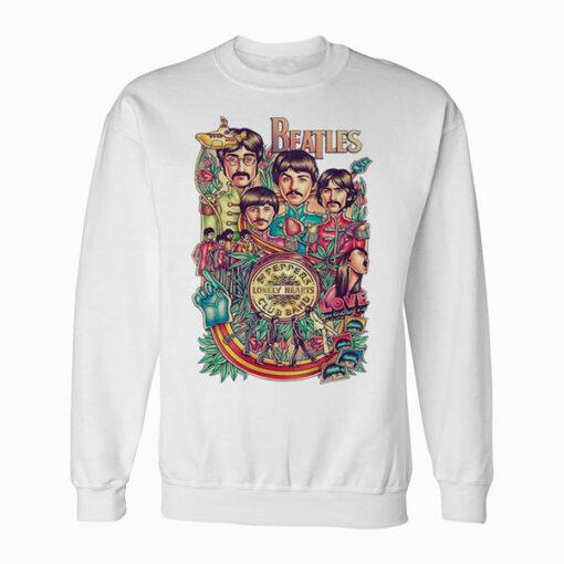 The Beatles Art Poster Sweatshirt