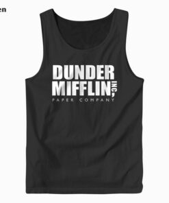 The Office Dunder Mifflin Tank Top