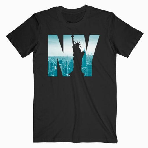 Urban New York City Skyline New York City Graphic T Shirt