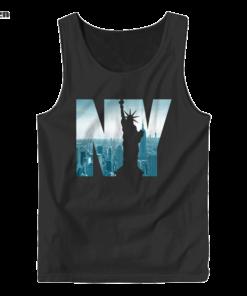 Urban New York City Skyline New York City Graphic Tank Top
