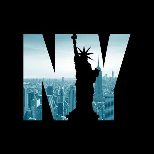 Urban New York City Skyline New York City Graphic