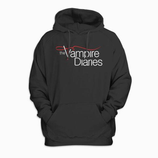 Vampire Diaries Logo Tank Top Sweatshirt Pullover Hoodie