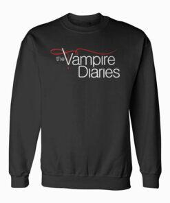 Vampire Diaries Logo Tank Top Sweatshirt