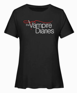 Vampire Diaries Logo Tank Top Sweatshirt Pullover Hoodie T Shirt
