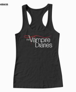 Vampire Diaries Logo Tank Top