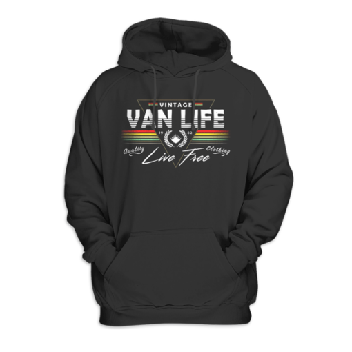Van Dweller Vanlife Van Life Pullover Hoodie