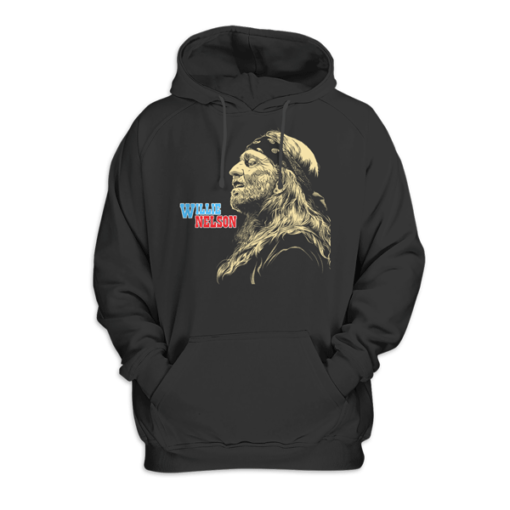 Willy Nelson Pullover Hoodie