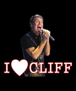 i love cliff Graphic T-Shirt - Band T Shirt