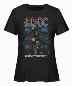 ACDC Vintage Band T Shirt