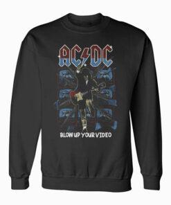 ACDC Vintage Band Sweatshirt
