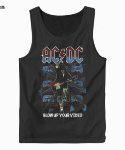 ACDC Vintage Band Tank Top