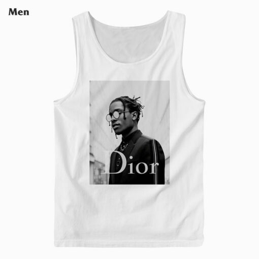 ASAP Rocky Dior Tank Top