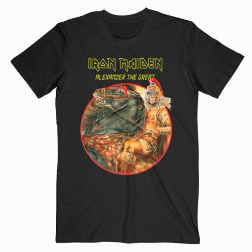 Alexander The Great Iron Maiden Band T Shirt