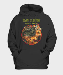 Alexander The Great Iron Maiden Band Pullover Hoodie