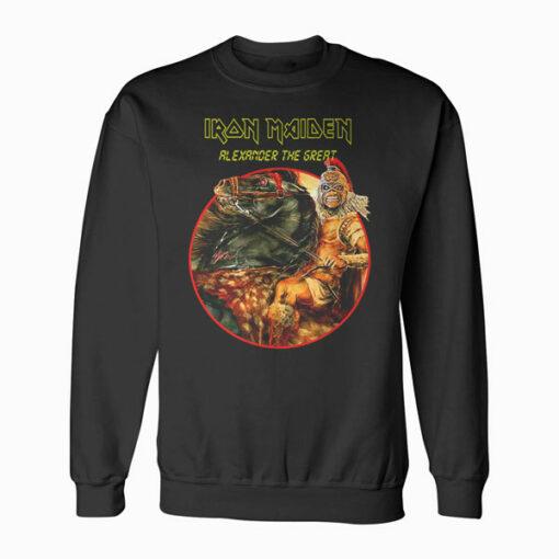 Alexander The Great Iron Maiden Band Sweatshirt