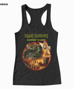Alexander The Great Iron Maiden Band Tank Top