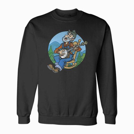 Banjoman Funny Sweatshirt