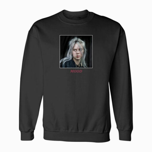 Billie Eilish Mood Band Sweatshirt