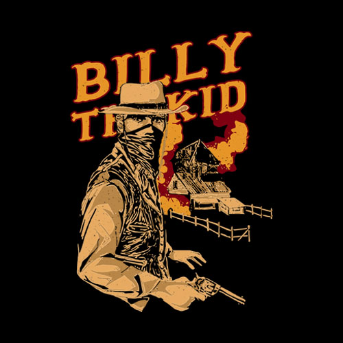 Billy The Kid Cartoon