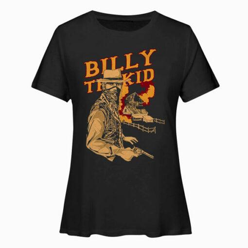 Billy The Kid Cartoon t shirt ld