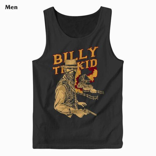 Billy The Kid Cartoon Tank Top