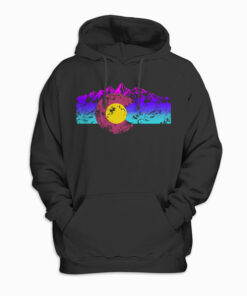 Colorado Flag Hoodie Colorful Rocky Mountains Version Hoodie