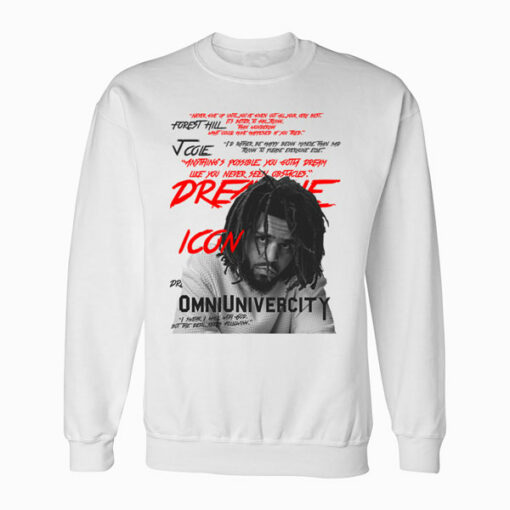 J Cole Omniunivercity Band Sweatshirt