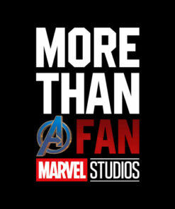 Marvel Avengers More Than A Fan 2019 Graphic