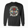Motley Crue Cartoon Rocker Band Sweatshirt
