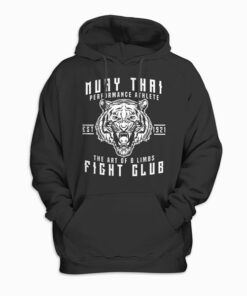 Muay Thai Thai Boxing Kickboxing Gift Hoodie
