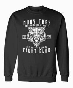 Muay Thai Thai Boxing Kickboxing Gift Sweatshirt
