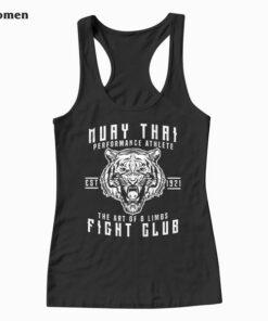 Muay Thai Thai Boxing Kickboxing Gift Tank Top