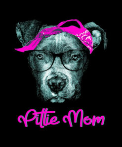 Pittie Mom Pitbull Dog Lovers Mothers Day Gift Dp 1