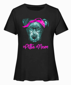 Pittie Mom Pitbull Dog Lovers Mothers Day Gift T shirt ld 1