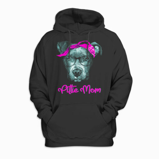 Pittie Mom Pitbull Dog Lovers Mothers Day Gift hoodie 1