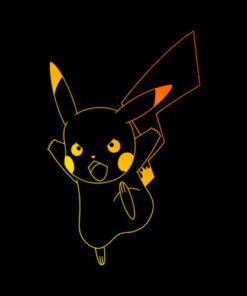 Pokemon Pikachu Ombre