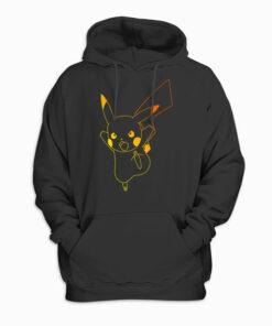 Pokemon Pikachu Ombre Hoodie