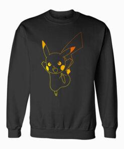 Pokemon Pikachu Ombre Sweatshirt