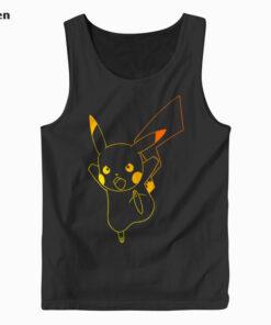Pokemon Pikachu Ombre Tank Top