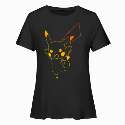 Pokemon Pikachu Ombre T Shirts