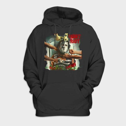 Quiet Riot Band Pullover Hoodie