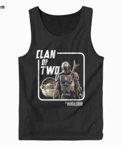 Star Wars Mando Baby Yoda Clan of Two Tank Top