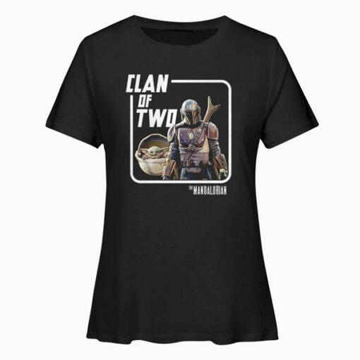 Star Wars Mando Baby Yoda Clan of Two T Shirt