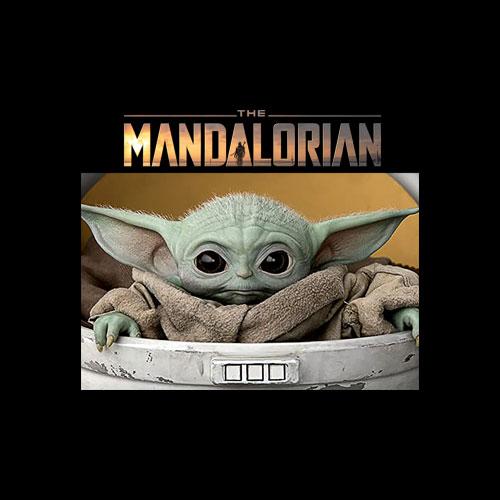 Star Wars The Mandalorian The Child Pod Screenshot Logo