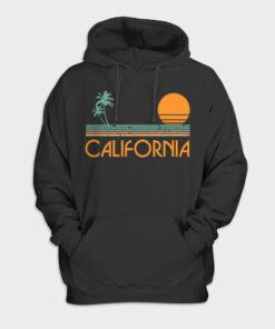 Vintage California Beach Hoodie
