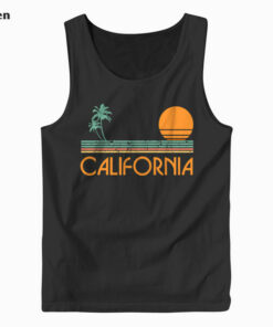 Vintage California Beach Tank Top